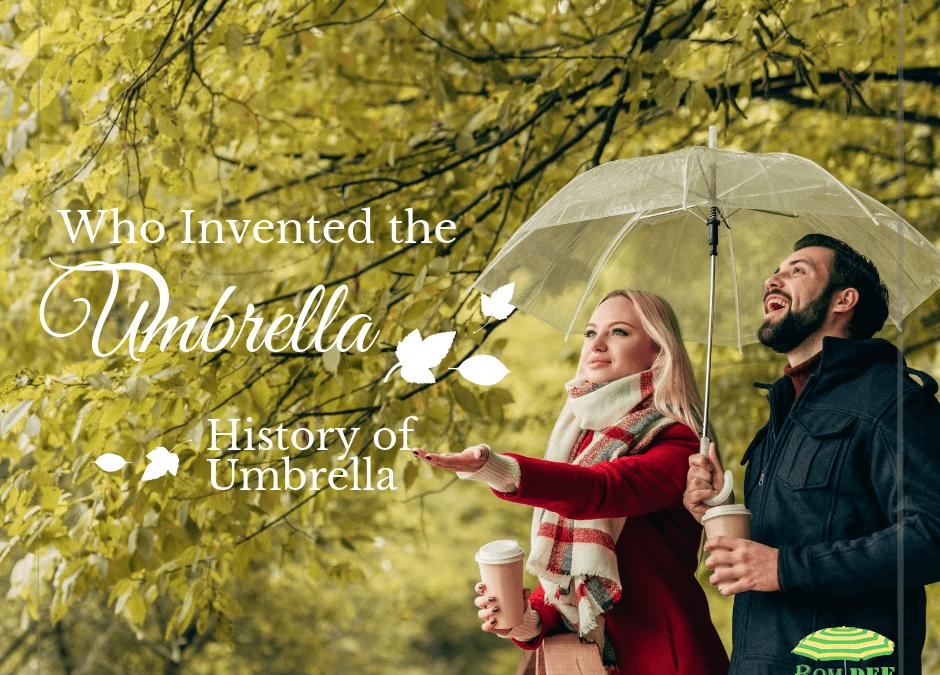 ประวัติร่ม ความเป็นมาของร่ม