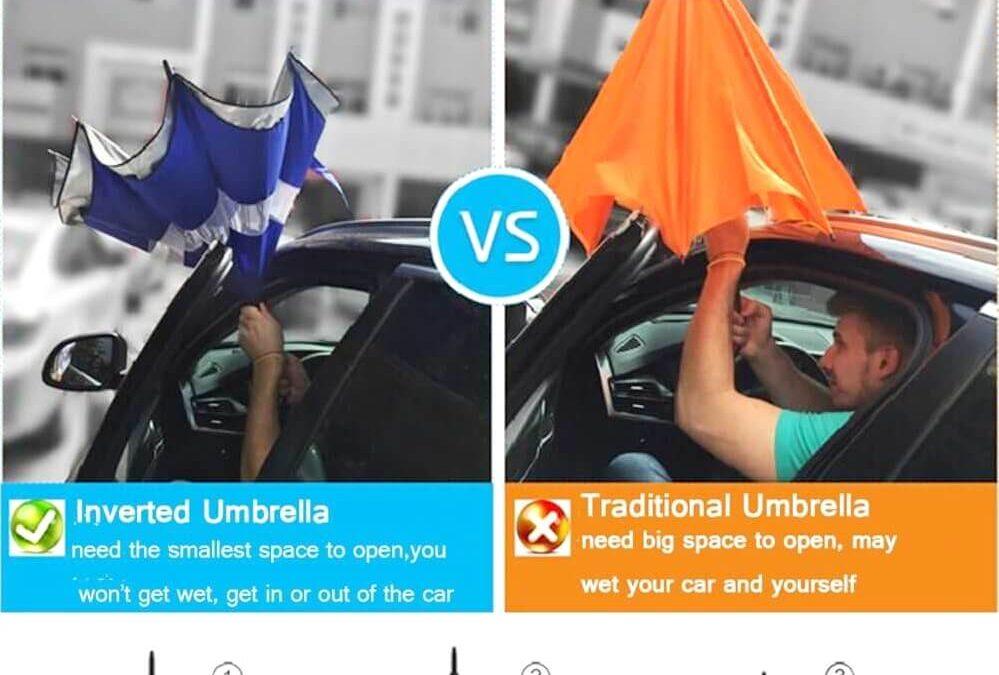 ใครคือผู้คิดค้น ร่มกลับด้าน (The Inventor of Reverse Umbrella)